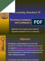 Accounting Standard 29 (1)