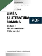 Secundar Romana I Cursant