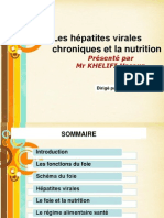 Les Hépatites Virales Chroniques Et La Nutrition