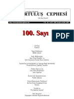 Kurtuluş Cephesi Sayı:100, Kasım-Aralık 2007