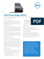 Server Poweredge m610 Specs En