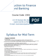 Introduction to Finance and Banking Updated - Copy