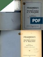 Ibrahim Dzafcic-Fragmenti Iz Politicke Istorije Bh Muslimana
