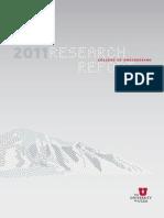 Coe Research Report 2011