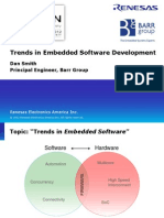Trends in Embedded Software Development