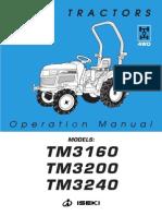 ISEKI TM Operation Manual