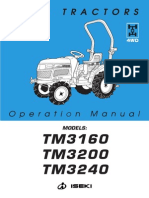 ISEKI TM Operation Manual