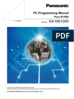 NS1000 PC Programming Manual
