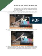 Tutorial Dan Cara Mengisi Ulang Tinta Printer