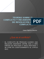 Teorias Sobre El Conflicto