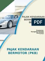 Pajak Kendaraan Bermotor dan BBNKB.ppt
