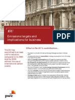 Europe Emissions Targets and Implications for Business 2015