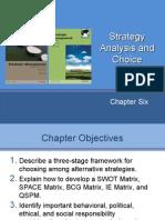 11-12. Strategic Analysis and Choice - 30 MAR 2015