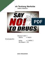 Makalah Tentang Narkoba