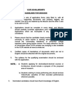 Guidelines Missions 2014 15