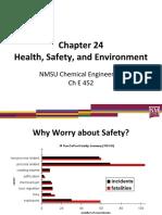 Process Hazards Reviews and Regulations