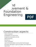 Ground Improvement & Foundation Engineering