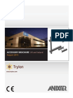 Trylon UK & Ireland Accessory Brochure Aug 2015