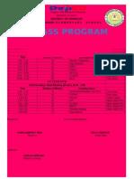 Class Program Grade 5