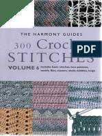 300 Crochet Stitches (2)