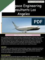 Aerospace Engineering Consultants Los Angeles