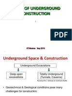 Prof. Raghavan- Metro Underground Construction Sep 2015