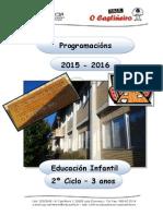 Ceip o Castiñeiro - Programación e. Infantil- 03 Anos - 2015-16