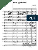 Big Band - Saxofone Por Que Choras [Rocha]