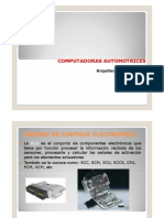 Arquitectura Centralitas ECU