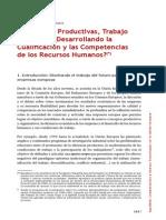 Lahera, A. - Mutaciones Productivas, Trabajo y Empleo
