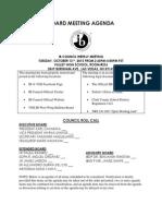board meeting agenda 10 13 15