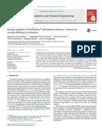 Exergy analysis in ProSimPlus simulation