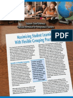 maximizing student learning with flexible grouping