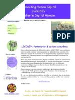 LECODEV Newsletter Issue 2 February 2010
