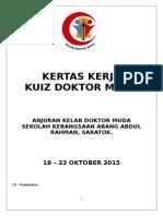 Kertas Kerja Kuiz Dr Muda