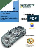 Prospectus Industry Ready Mtech Cutm Pioneer Design