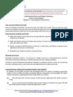 11 Accountancy Keynotes Ch03 Recording of Transactions Vk