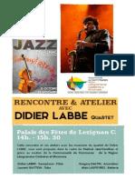 Affiche Didier Labbe