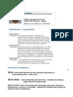 Curriculum Vitae Hugo DOCUMENTADO