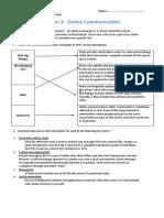 u1l3 online communication worksheet