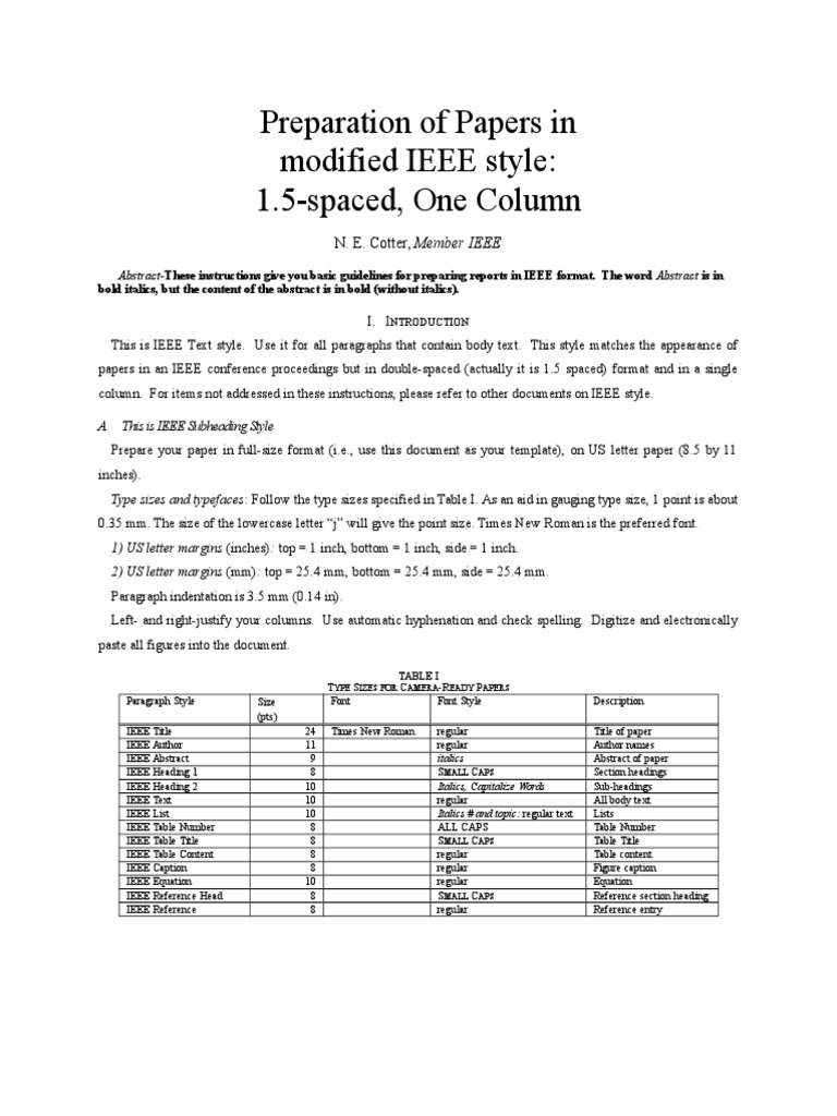 Ieee Abstract Format Ibovnathandedecker