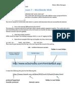 u1l7 worldwide web worksheet ef pdf
