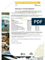 Circuito Especial - Itaipu
