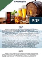 Slide seminário fabricação de cerveja