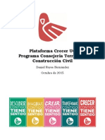 Programa Consejería Territorial - Construcción Civil - Daniel Reyes Hernández