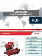 Actuadores Electrohidraulicos Parte III