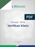 Petunjuk Teknis Verifikasi Klaim_REV