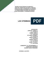 Bioquímica - Vitaminas