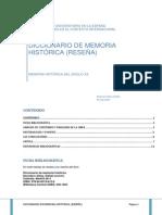 Actividad_1 Diccionario de Memoria Histórica - Reseña