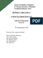 Guía de Laboratorio - Química Orgánica para Biología - Parte B
